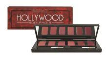 SKINN Cosmetics~ Hollywood VELVET Lip Palette ~6 colors ~Mirror & 2 brushes ~New