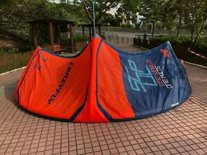 Slightly Used 2018 CrazyFly Sculp 11M Red Kite Kitesurfing Sick bar Kiteboarding