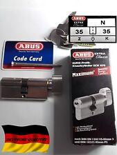 Cylindre porte barillet serrure mollette ABUS ECK 870 35/35 haute sécurité 5 clé