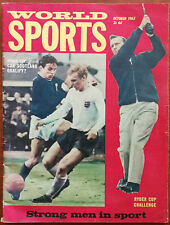 More details for world sports volume 31 no 10, oct 1965 world cup scotland, ryder cup challenge