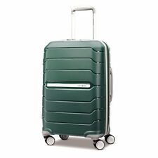 "NEW Samsonite Freeform 21"" SAGE GREEN Carry on Luggage 4-wheeled 78255-2017"