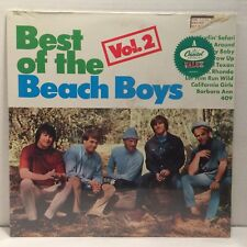 Best of the Beach Boys Vol 2 - LP - SEALED - Capitol DN 16318