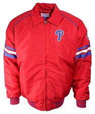 NEW - MLB Philadelphia Phillies MLB Red Mid-Weight Jacket (L) - FREE SHIPPING