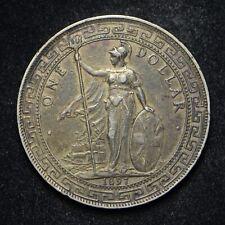 1897 Great Britain Trade Dollar .900 Silver (cn7276)