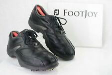 FOOTJOY Superlites 58031 Mens 9 M Bicycle Toe Athletic Golf Shoes Black  GF72