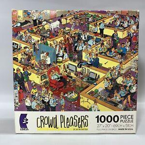 Jan Van Haasteren-Lot of 4 1,000 Piece Puzzles
