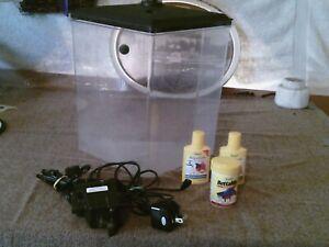 Koller Craft 1.5 gallon plastic aquarium with LED light. with multi color selec