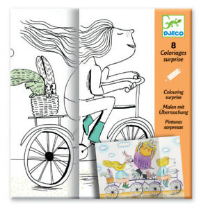 NEW DJECO Mademoiselle Colouring (ages 4+) - Combined postage available