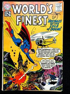 VINTAGE WORLDS FINEST DC COMICS ISSUE No.125 MAY 1962 SUPERMAN & BATMAN