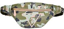 NWT GUESS SCARLETT GYM Camo Logo Belt Bag Fanny Pack Waist Bag Bum Bag GENUINE