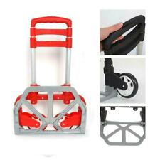 170lbs Cart Folding Dolly Collapsible Trolley Push Hand Truck Moving Warehouse
