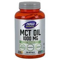 NOW Foods Foods MCT Oil, 1000 mg, 150 Softgels
