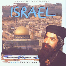 ISRAEL - Music of the World: Various Artists, 14 Biblical songs **NEW CD**