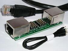 Rj- 45 Rj45 Mess und Prüf Adapter 8 Polig