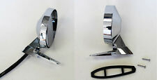 NEW! 1964-1966 Ford Mustang Right and Left Side Matching Mirrors Pair Both Sides