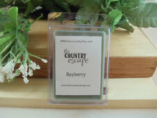 Bayberry Scented Soy Wax Clamshell Melt Tart- 2wks of Fragrance