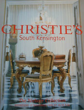 Christie's Auction Catalogue & Results - THE NIEBOER COLLECTION - November 1999