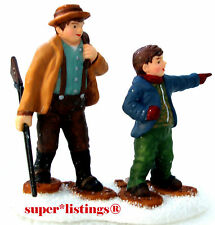 Dept. 56 Pine Isles Scouting for Deer 2002 Retired Simple Traditions 56.05952