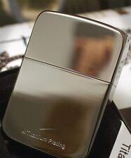 Zippo Lighter Free Gift Set(Shipping,Flint,Wick) 1941Replica Titanium plating BK