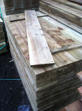 FENCE BOARDS 1.8 X 150 X 16 (6FT X 6'' X 3/4'') PRESSURE TREATED £1.50 each