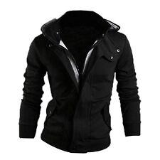 Men's Winter Slim Hoodie Warm Hooded Sweatshirt Coat Jacket Outwear Sweater XXL