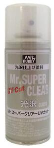 Gunze Mr Hobby Super Clear GLOSS W/ UV Block Spray 5.75 oz. (170ml) B522