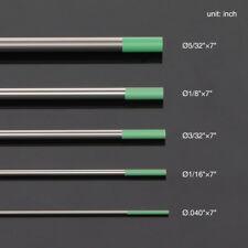 10-pk TIG Welding Tungsten Electrode Pure(Green, WP) .040