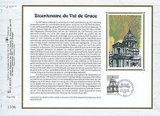 FEUILLET CEF / DOCUMENT PHILATELIQUE / VAL DE GRACE 1993 PARIS