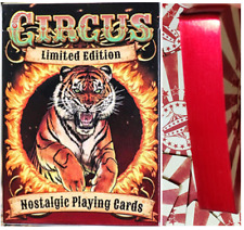 Circus Nostalgic RED GILDED Limited Edition (Only 400!) Playing Cards - USPCC