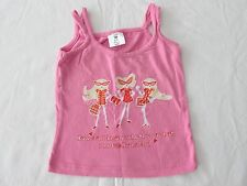 Maja Mädchen Trägertop Top, Shirt mit Spaghettiträgern, rosa, Gr. 80/86