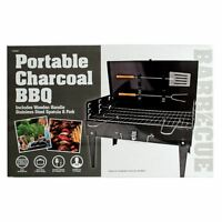 PORTABLE CHARCOAL BBQ 42CM OUTDOOR SUMMER COOKING GRILL CAMPING GARDEN PARTY
