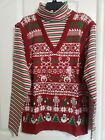 SIZE LARGE - AMERICAN RAG Men's UGLY Christmas Sweater NWT $50