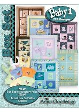 Anita Goodesign Baby Box Set 1 Embroidery Machine Design CD