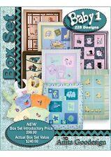 Anita Goodesign Baby Box Set 1 Embroidery Machine Design CD