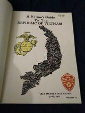 June 1967 U.S. Dept. of the Navy Marine Corp.Bulletin Marine's guide to Vietnam