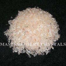 5000 x Rose Quartz Mini Tumblestones 1mm-3mm A+ Grade Crystal Gemstone Wholesale