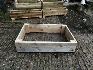 No Assembly Required! Raised Vegetable Bed /  Garden Planter Handmade in Devon.