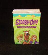 SCOOBY DOO MYSTERIES & MONSTERS    Complete  Trading Card Set with Stickers