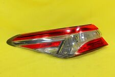 ⛩️ 18 19 20 Toyota Camry L LE Left Driver Tail Light Lamp OEM *NICE CONDITION*