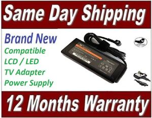 Sony Bravia KDL-32WD752 LCD / LED TV Television Power Supply Ac Adapter Charger