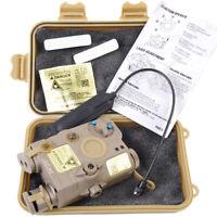 Tactical Gun Refile LA-PEQ15 Battery Case + Infrared Red Laser Pointer IR lens