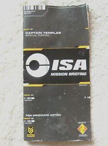 74170 Instruction Booklet - Killzone Liberation - Sony PSP (2006) UCES 00279