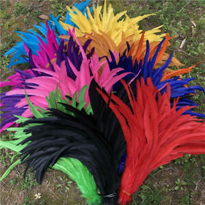 Wholesale, 10-1000pcs 16-18 inches/40-45 cm high quality rooster tail feathers