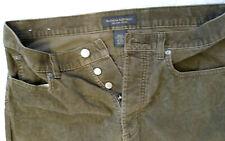 Banana Republic Men's Brown Corduroy Pants Actual Size 33x31 Button Fly
