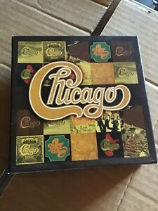 CHICAGO THE STUDIO ALBUMS 1968-1978 10 x CD BOXSET