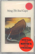 """STING """" THE SOUL CAGES """" MUSICASSETTA SIGILLATA INCLUDE MUOIO PER TE  K7  (MC)"""