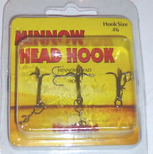 Northland Tackle Minnow Head Treble Hooks (#6-3/pack)