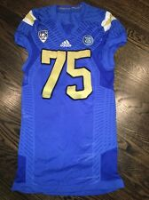 Game Worn UCLA Bruins Football Jersey Used adidas #75 Size XL