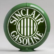 "Sinclair Bars 13.5"" Gas Pump Globe w/ Green Plastic Body (G307)"