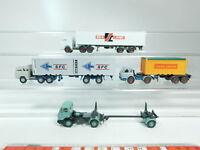 BH77-0,5# 4x Wiking H0/1:87 LKW: Magirus SFC + Sealand + Mercedes-Benz/MB etc